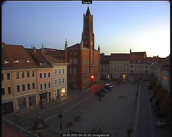Webcam Kamenz - Marktplatz